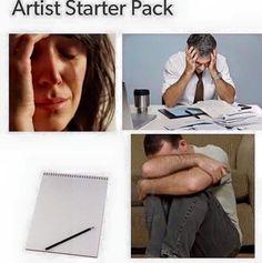 Artist starter pack