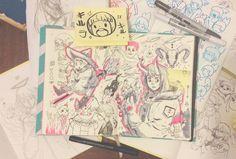 Del cuaderno a la calle Abril, Día 10 Delfina Perez Adan http://estampita.tumblr.com/