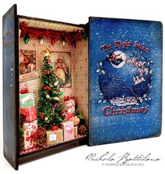 Christmas Book Box - Nichola Battilana