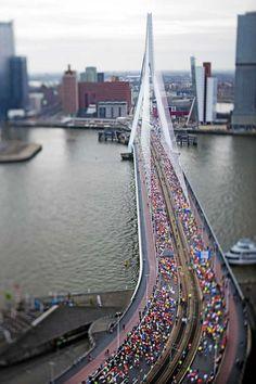 Marathon in Rotterdam
