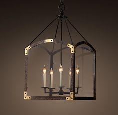 18th C. Arched Maison Lantern Pendant