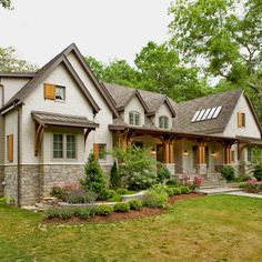 West Meade House - traditional - Exterior - Nashville - BUILDING IDEAS / David Baird Architect