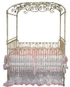 Baby Nursery Furniture carriage | ... Beauty Iron Baby Crib Picture in Baby Cribs from Joan Chen's store