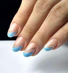 Light Blue Nails, Badass, Beauty, Beauty Illustration