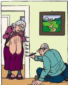 old lady funny pics cartoons | The Purple Turkey: December 2008