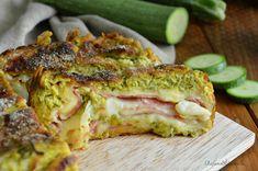 Rotolo di zucchine, prosciutto e formaggio - video ricetta