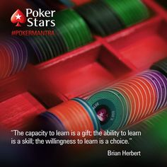 Wise words... by pokerstars