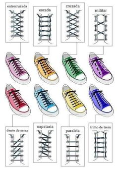 Sneakers lace