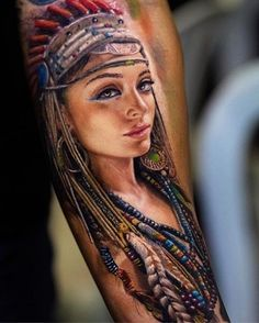 Realistic Tattoo Art by Yomico Moreno Native Tattoos, 3d Tattoos, Best Sleeve Tattoos, Great Tattoos, Sexy Tattoos, Unique Tattoos, Beautiful Tattoos, Body Art Tattoos, Girl Tattoos