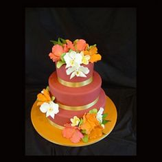 Planet Cake – Three Tier Tropical Cake
