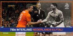 750ste interland van Oranje.