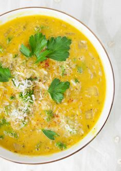 Creamy Spiced Coconut Lentil Soup - This seriously is a Flavor Explosion!! Delicious! dw