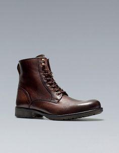 BOTA MINA - Zapatos - Hombre - ZARA España