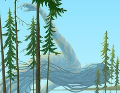 "Check out new work on my @Behance portfolio: ""The Spirit of the northern Lake"" http://on.be.net/1Tp3jcR"