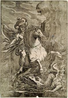 Saint Georges et le dragon, Giuseppe Scolari
