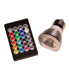 Infinity Light: Color Changing LED Bulb
