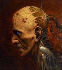 'Kopf destruktiv' von Ernst Thupten Dawa Neuhold bei artflakes.com als Poster oder Kunstdruck $16.63