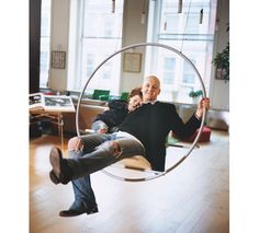Indoor swing by French company Reso Design.  [Originally featured in Cookie magazine, pinned from calfinder.com]
