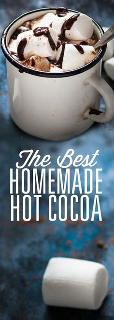 Meet your new favorite cup of hot cocoa! You'll be enjoying this recipe all winter long.