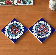 Tile Patterns, Pattern Art, Pattern Design, Turkish Art, Turkish Tiles, Islamic Tiles, Islamic Art, Blue Pottery, Ceramic Pottery