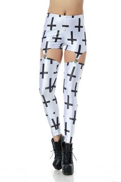 Hot Vintage Beautiful Sexy Lady new Fashion Black And White Vertical Stripes Suspender Digital Printing Sexy Galaxy Leggings Printed Cosmic Space Pants Tie Dye Tights Girl For Women|WG-JK1007|Suspender Leggings