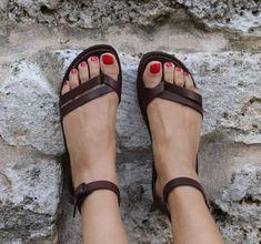 SALDI 5 EURO / Sandali Artigianali Donna Sandali von SandaliShop