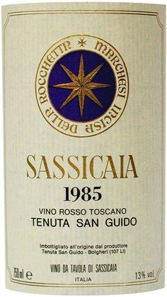 sassicaia red wine
