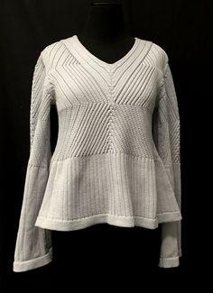 Designer: Vanessa Lee: knitGrandeur: FIT & Baruffa 2/30s Cashwool Collaboration 2016: Term Garment Project