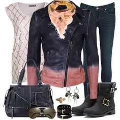 """""""Leather Jacket Contest #2"""" by lifebeautiful on Polyvore"""