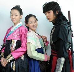 "Iljimae (Hangul: 일지매; hanja: 一枝梅; RR: Iljimae; literally ""One blossom branch"") is a 2008 South Korean period-action television series, starringLee Joon-gi in the title role of Iljimae, Han Hyo-joo, Lee Young-ah and Park Si-hoo. It is loosely based on the comic strip Iljimae, published between 1975 and 1977, written by Ko Woo-young based on Chinese folklore from the Ming dynasty about a masked Robin Hood-esque character during the Joseon era.한효주 이영아 이준기"