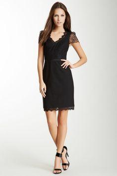 Rebecca Taylor Lace Combo Dress