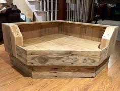 Corner Dog Bed Platform