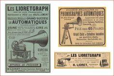 Lioretgraph Phonograph advertising