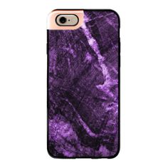 iPhone 6 Plus/6/5/5s/5c Metaluxe Case - Purple Marble (metaluxe) (64 AUD) ❤ liked on Polyvore featuring accessories, tech accessories, iphone case, purple iphone case, iphone cover case and apple iphone cases