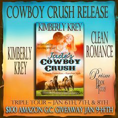 Jade's Cowboy Crush by Kimberly Krey – Triple Tour Guest Post and Giveaway | Brooke Blogs