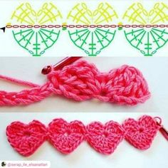 Watch This Video Beauteous Finished Make Crochet Look Like Knitting (the Waistcoat Stitch) Ideas. Amazing Make Crochet Look Like Knitting (the Waistcoat Stitch) Ideas. Crochet Pattern Free, Crochet Borders, Crochet Flower Patterns, Crochet Diagram, Crochet Stitches Patterns, Crochet Chart, Crochet Motif, Crochet Flowers, Diy Crochet