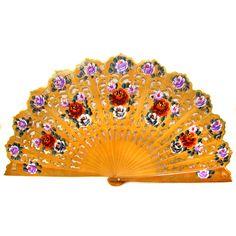 Hand painted Spanish fan Antique Fans, Vintage Fans, Hand Held Fan, Hand Fans, Chinese Fans, Fan Decoration, Modern Fan, Asian Design, Victorian Women