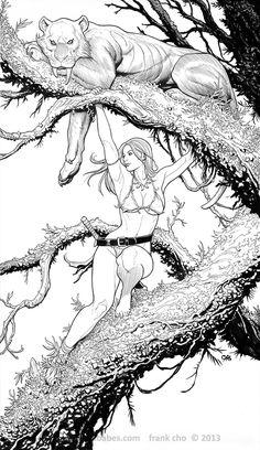 Shanna the She-Devil by Frank Cho