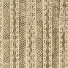 Dutch Stripe in Vison on Light Tea Stain from Michael S. Smith #fabric #textiles #interiordesign #hemp #stripe #pattern #brown