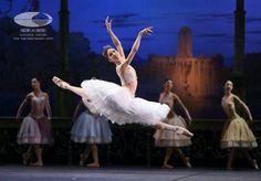 """Shoko Nakamura in """"La Peri"""" Staatballett's China Tour.Photo by Wang Xiaojing."""