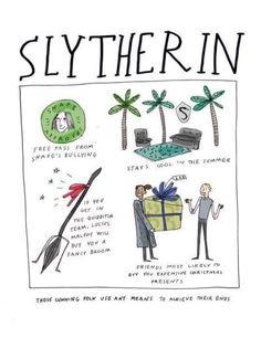 图片来自We Heart It #hp #slytherin