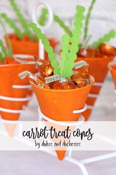 carrot treat cones