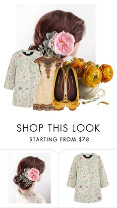 """""""The Honeycomb - beautiful hairpiece"""" by diaryoflady ❤ liked on Polyvore featuring RED Valentino and Valentino"""