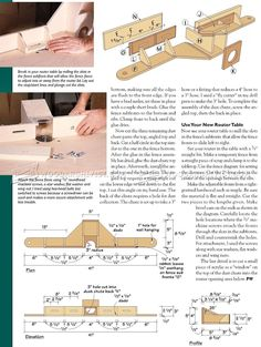 Build Router Table - Router