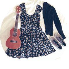 Ukulele Spring Outfit.