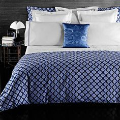 Product Image for Frette At Home Ticino Waves Duvet Cover in Royal Blue 1 out of 2