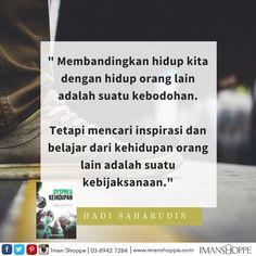 Siapakah inspirasi anda sekarang?   Mari kongsikan dengan kami :)
