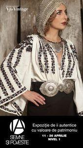 IA: Semne si Poveste // 26 aprilie // mall Promenada — V fair Folk Fashion, Curvy Fashion, Daily Fashion, Folk Embroidery, Embroidery Fashion, Bohemian Costume, Romanian Girls, Nicole Fashion, Europe Fashion
