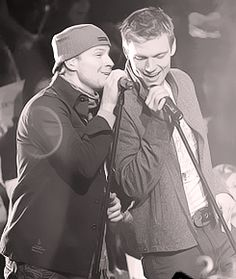 brian littrell and nick carter - frick & frack (I love this pic)
