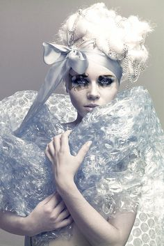 Kerli <3 I love how majority of her videos, makeup, clothes and such are all hand crafted by her.